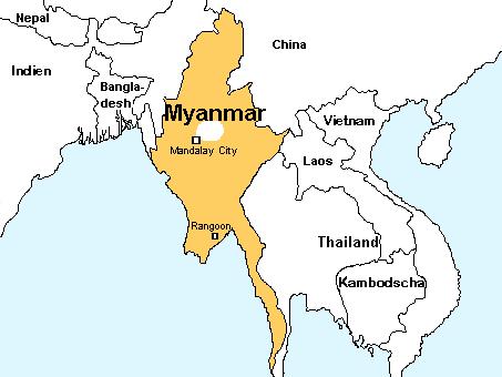 Myanmar ( Burma ) Sanal Panorama Tur