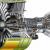 uçak motorunun patlama anı