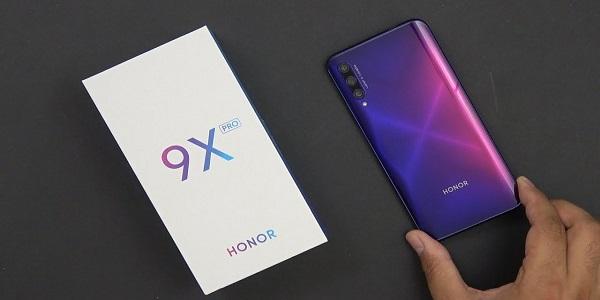 Honor 9X Pro ekran görüntüsü nasıl alınır